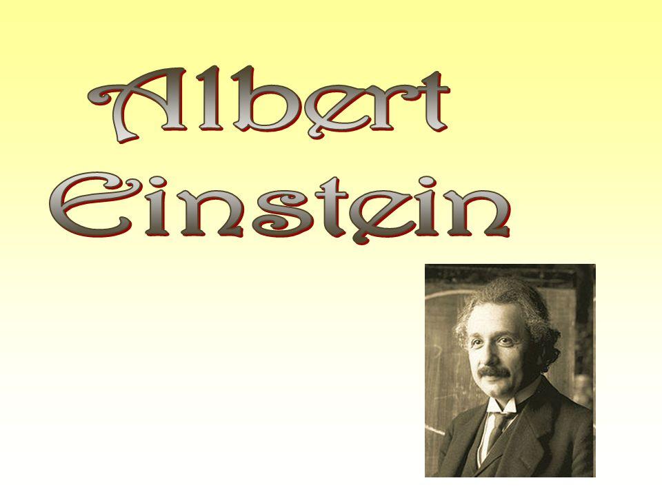 Życiorys Albert Einstein urodził się w Ulm (Niemcy) 14 marca 1879 roku, osiem lat po zwycięstwie Bismarcka nad Francją, osiem lat po Komunie Paryskiej.