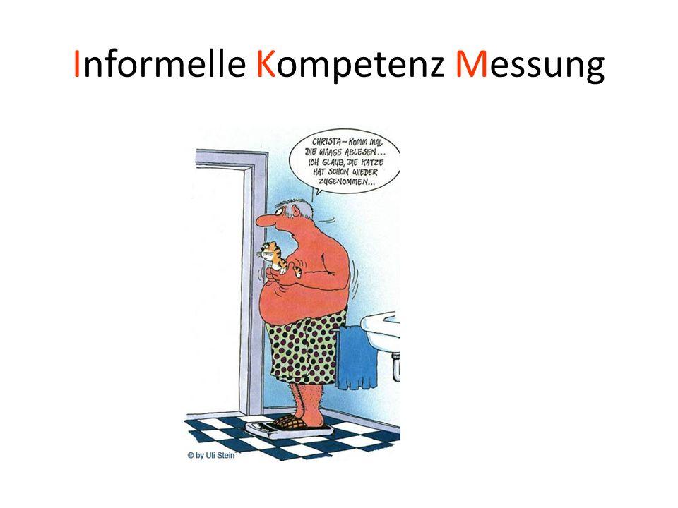 Informelle Kompetenz Messung