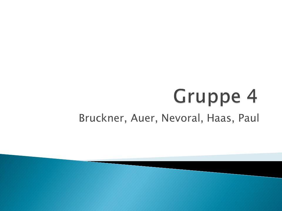 Bruckner, Auer, Nevoral, Haas, Paul