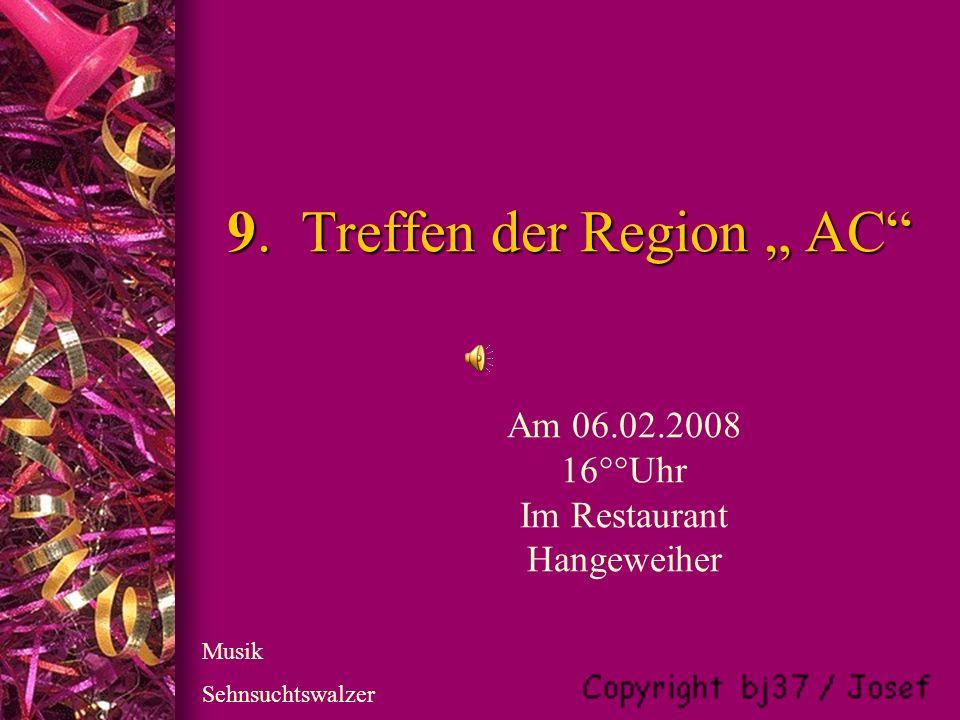 9.Treffen der Region AC 9.