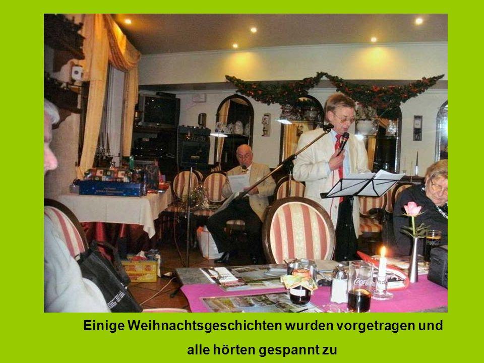 Rebo Gerd bedankte sich für die Stimmungsvolle Aufführung Placeholder for your own text Bis zum nächsten Mal