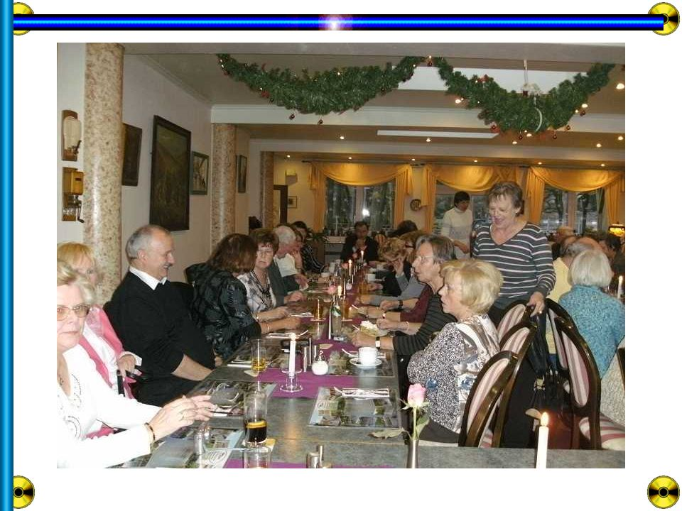 Unser 31.Regionaltreffen am 2. Dezember 2009 im 3.