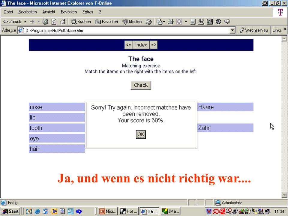 Peter Wolfgang 2002 Ja, und wenn es nicht richtig war....