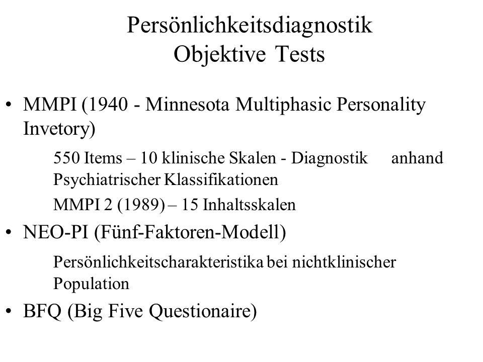 Persönlichkeitsdiagnostik Projektive Tests Rorschach Test (H.