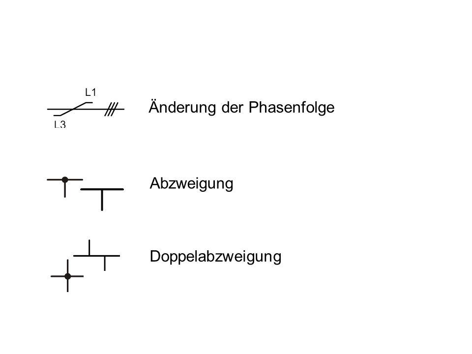 Verbindung Klemmliste, Anschluss unten Klemmliste, Anschluss oben Anschlussklemme