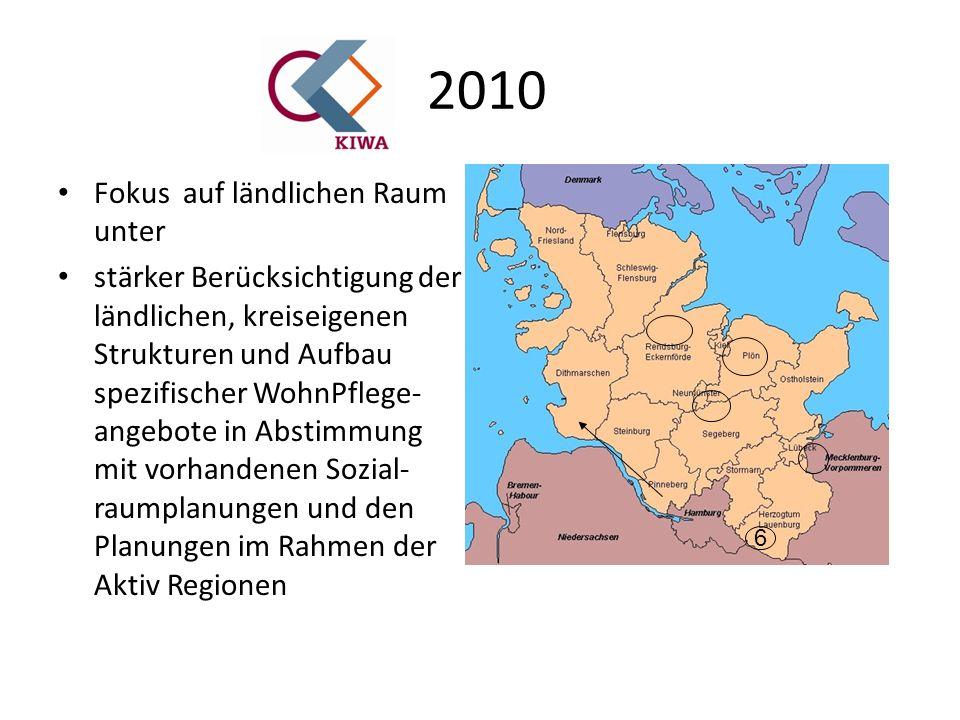2010 Schwerpunkt: Ländliche Regionen altersgerecht gestalten Älter werden auf dem Land - für viele ein Traum.
