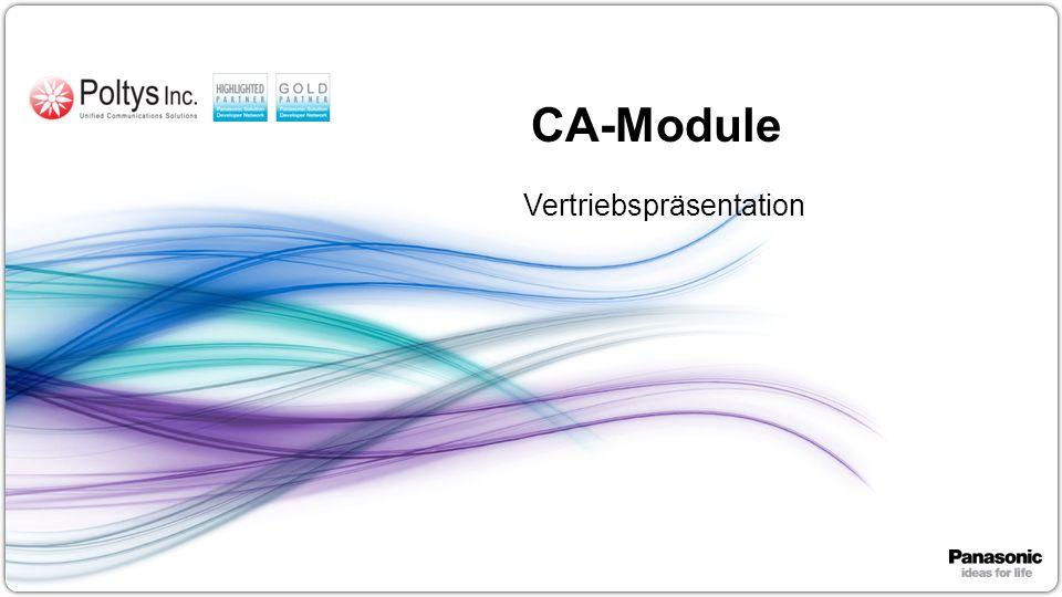 1 CA-Module Vertriebspräsentation
