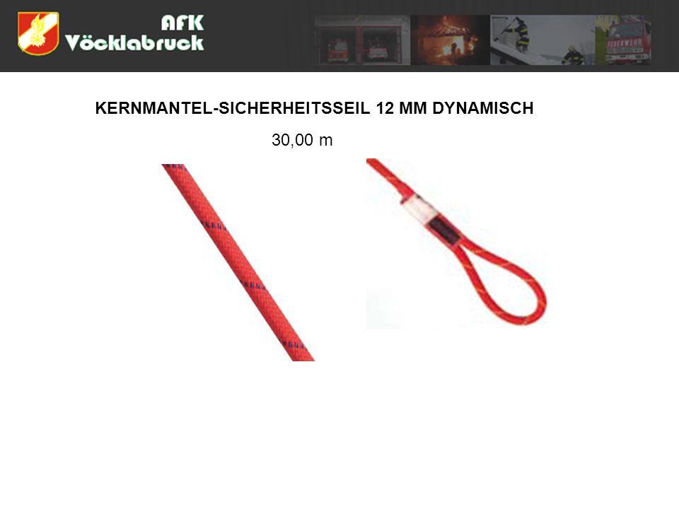 KERNMANTEL-SICHERHEITSSEIL 12 MM DYNAMISCH 30,00 m