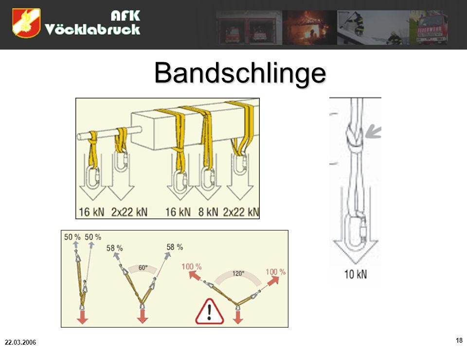 22.03.2006 18 Bandschlinge