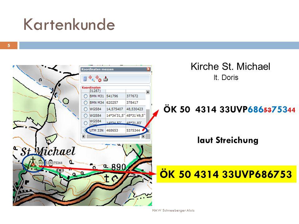 Kartenkunde ÖK 50 4314 33UVP686 53 753 44 ÖK 50 4314 33UVP686753 laut Streichung Kirche St.