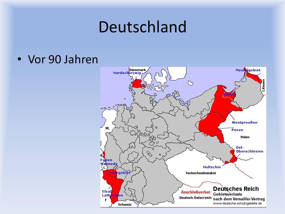Deutschland Vor 90 Jahren