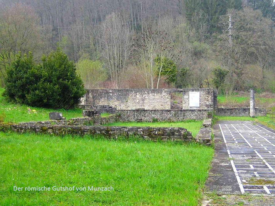 Der römische Gutshof von Munzach