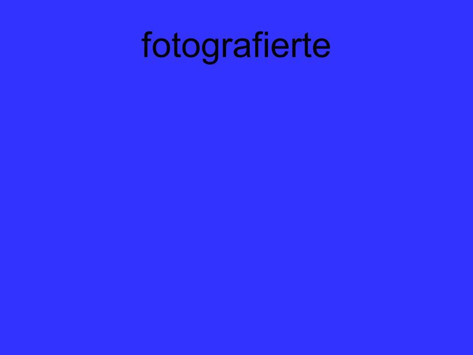 fotografierte