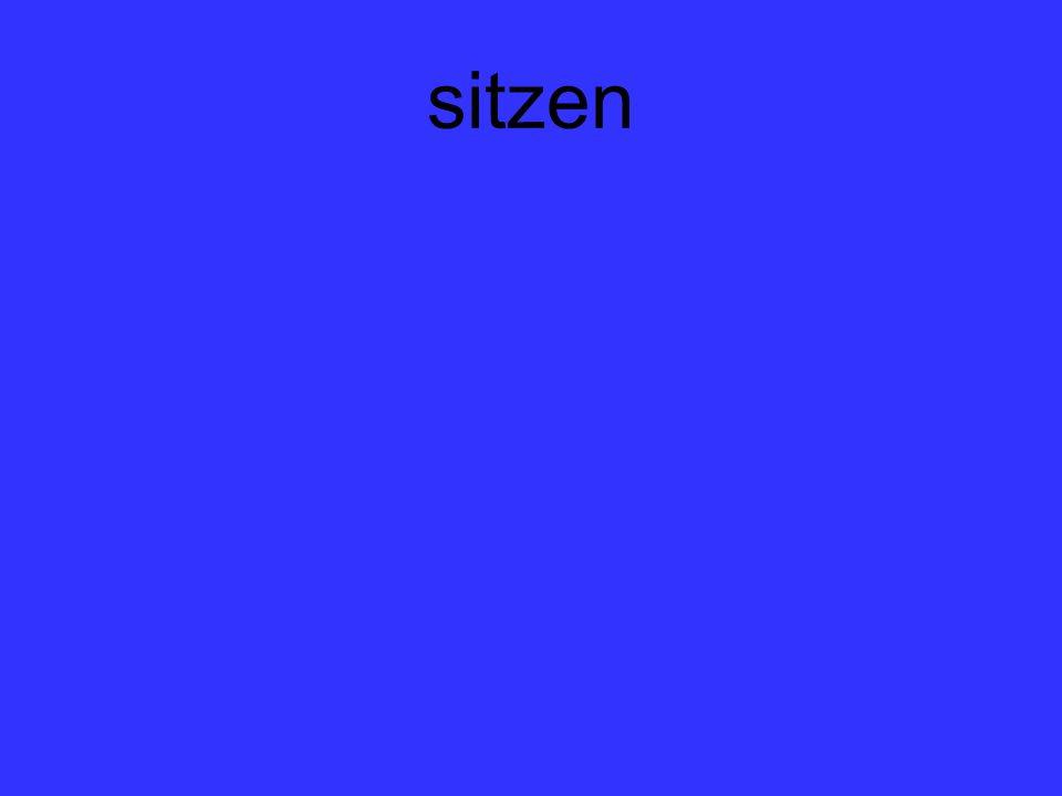 sitzen