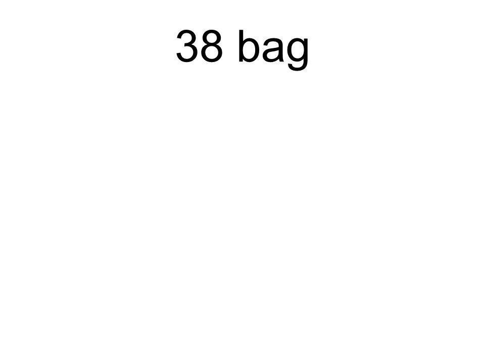 38 bag