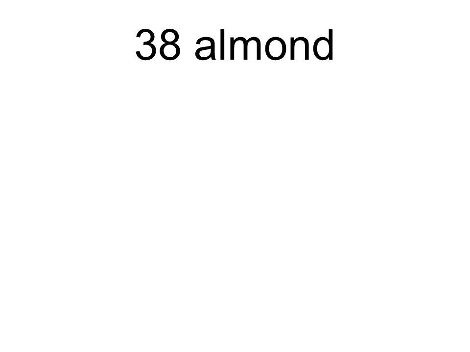 38 almond