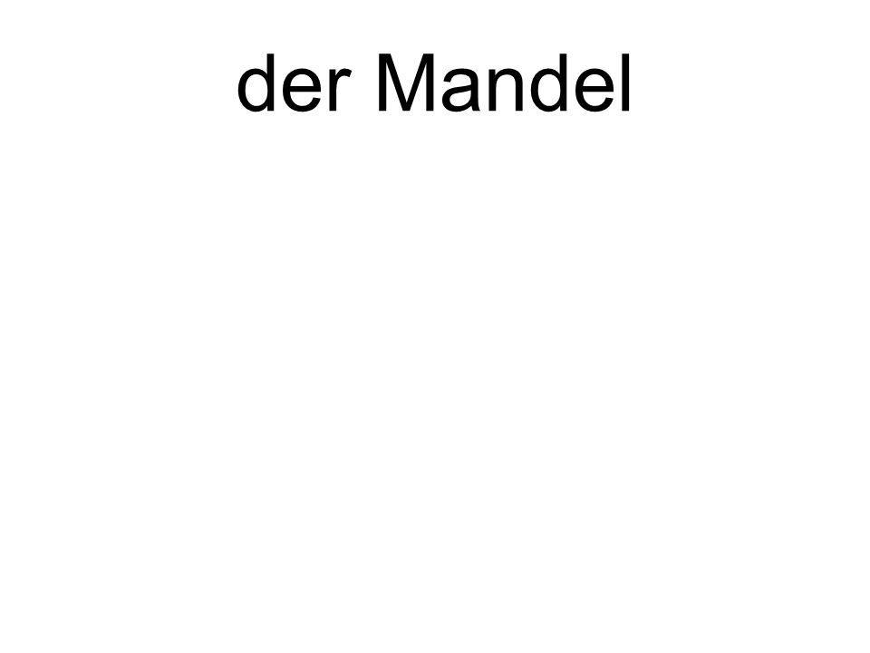 der Mandel