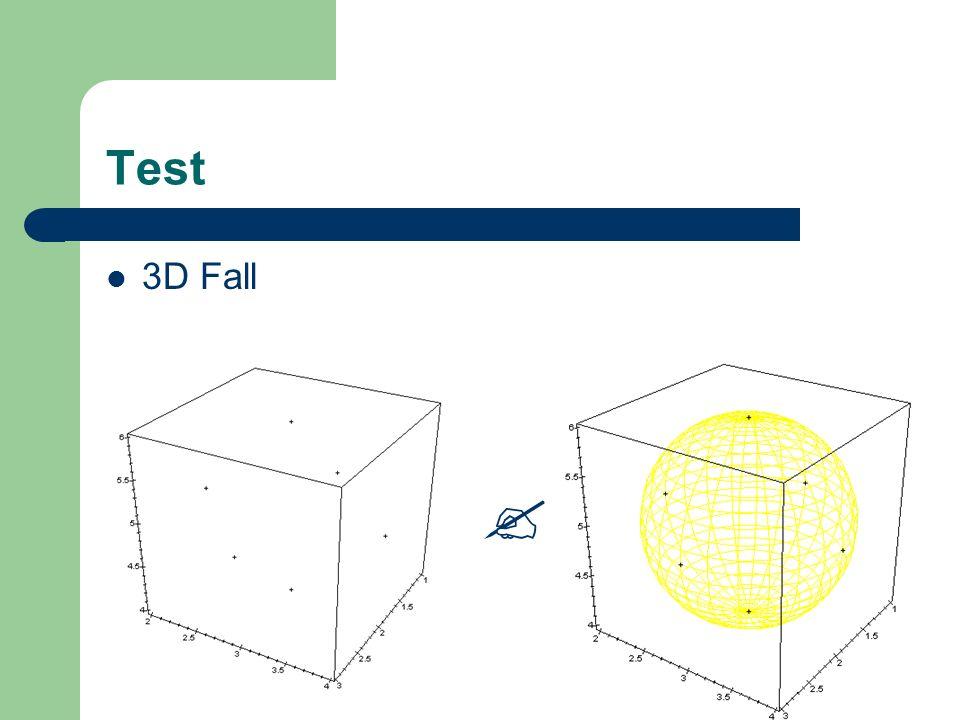 Test 3D Fall