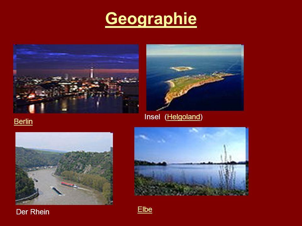 Geographie Berlin Insel (Helgoland)Helgoland Der Rhein Elbe