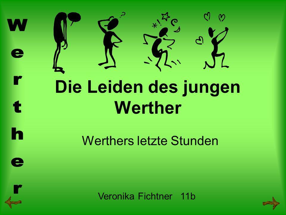 Die Leiden des jungen Werther Werthers letzte Stunden Veronika Fichtner 11b