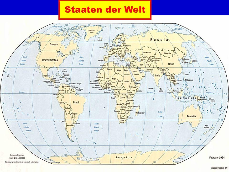 Staaten der Welt