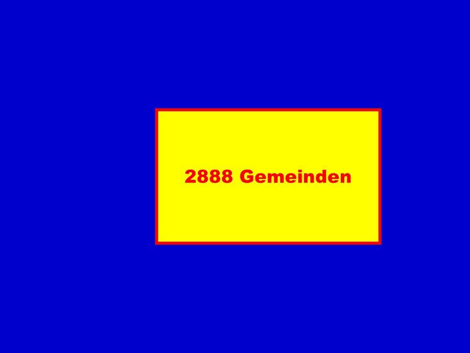 2888 Gemeinden