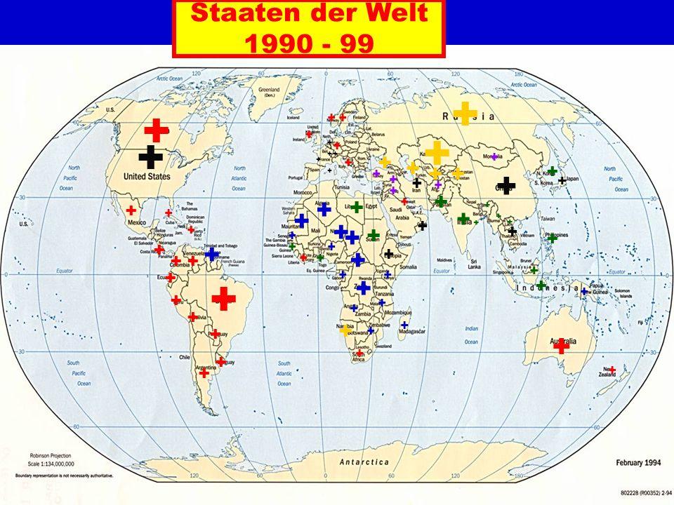 Staaten der Welt 1990 - 99 + + ++ + + + + + + + + + + + + + + + ++ + + + + + + ++ + + + + + + + + + + + + + + + + + + + + + + + + + + + + + + + + + + + + + + + + + ++ + + + + + +