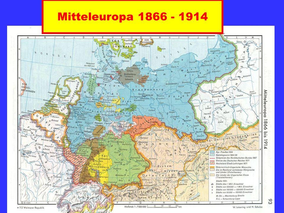 Mitteleuropa 1866 - 1914
