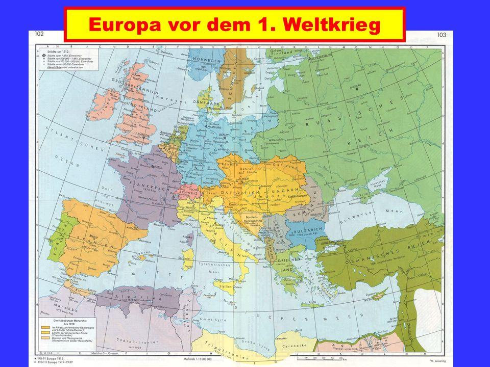Europa zwischen 1919 und 1939