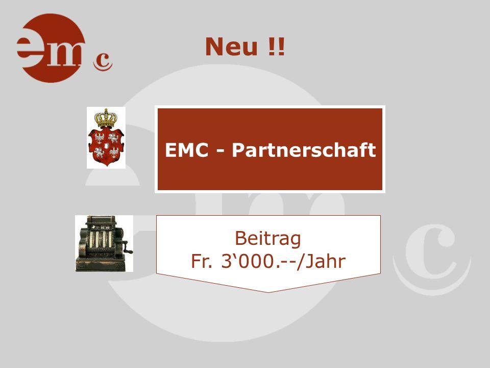 Partnerschaft Branchenexklusivität Logopräsenz 1.