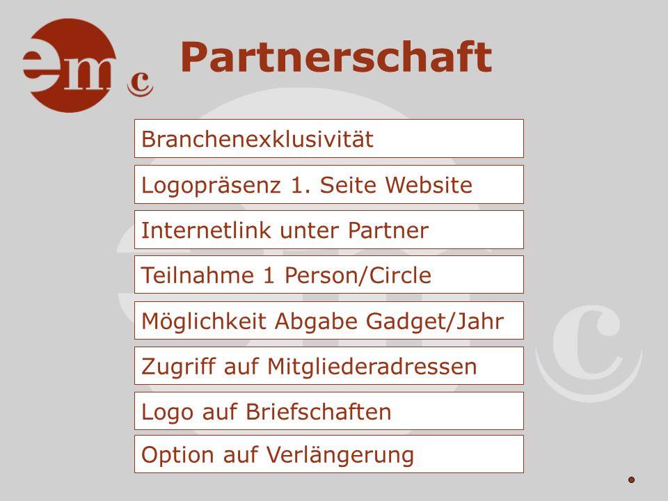 Partnerschaft 1. Partner