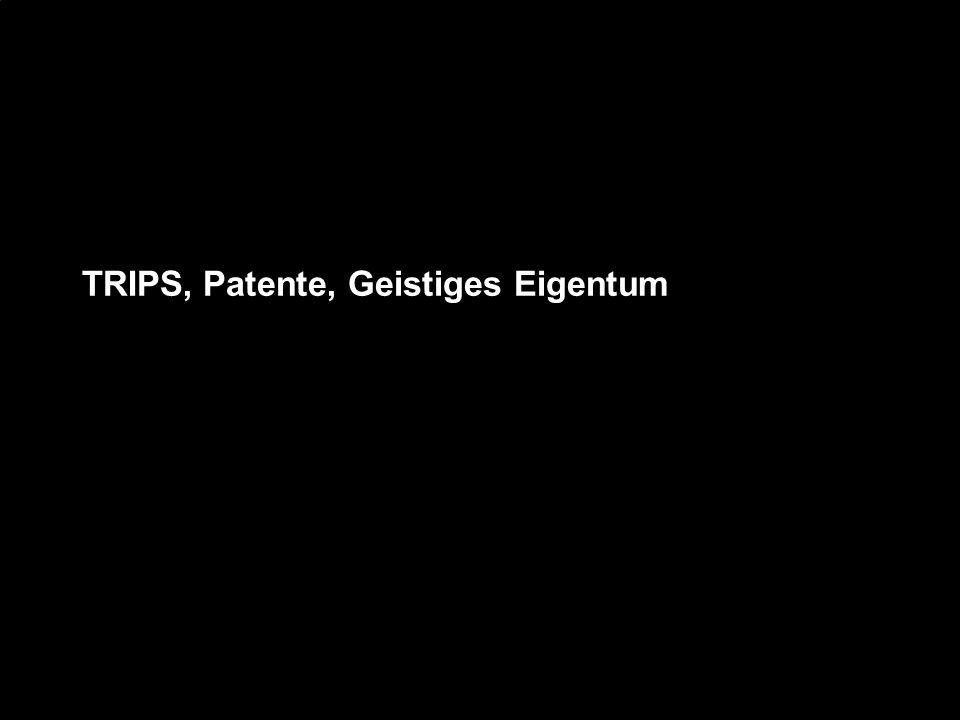 TRIPS, Patente, Geistiges Eigentum