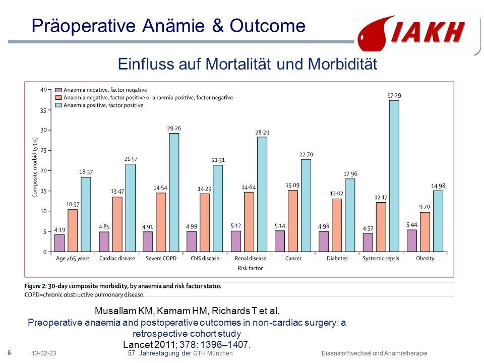 17 Agenda Anämie- und Eisentherapie - weshalb .