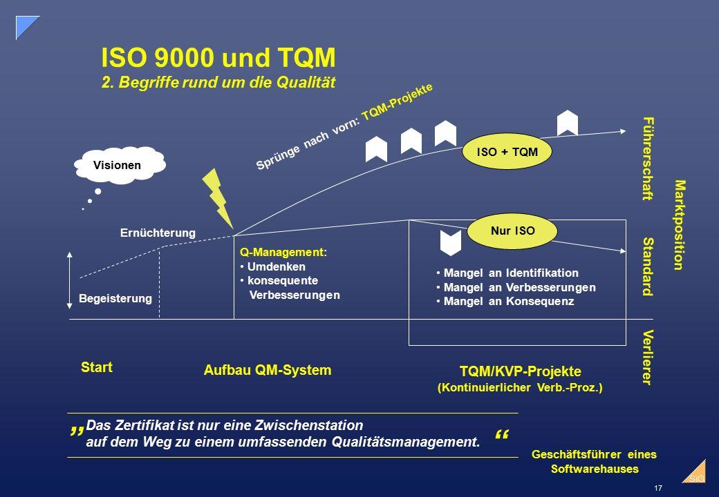 17 SiG ISO 9000 und TQM 2.