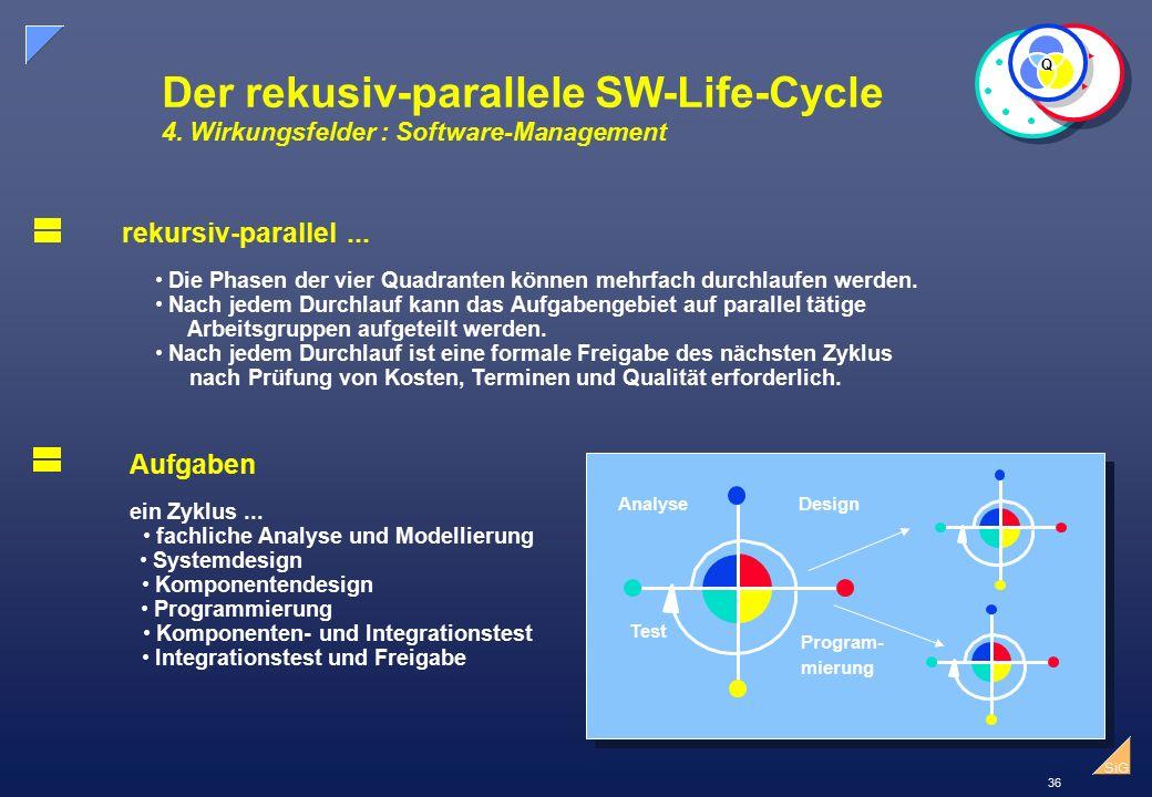 36 SiG Der rekusiv-parallele SW-Life-Cycle 4.