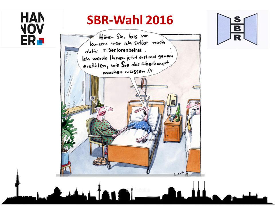 SBR-Wahl 2016 im Seniorenbeirat.