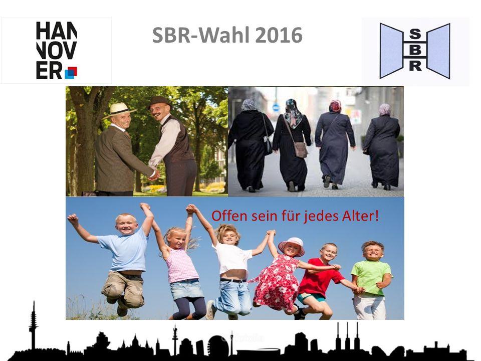 SBR-Wahl 2016 Grundsätze der Delegiertenwahl  Versand der Briefwahlunterlagen: vom 5.
