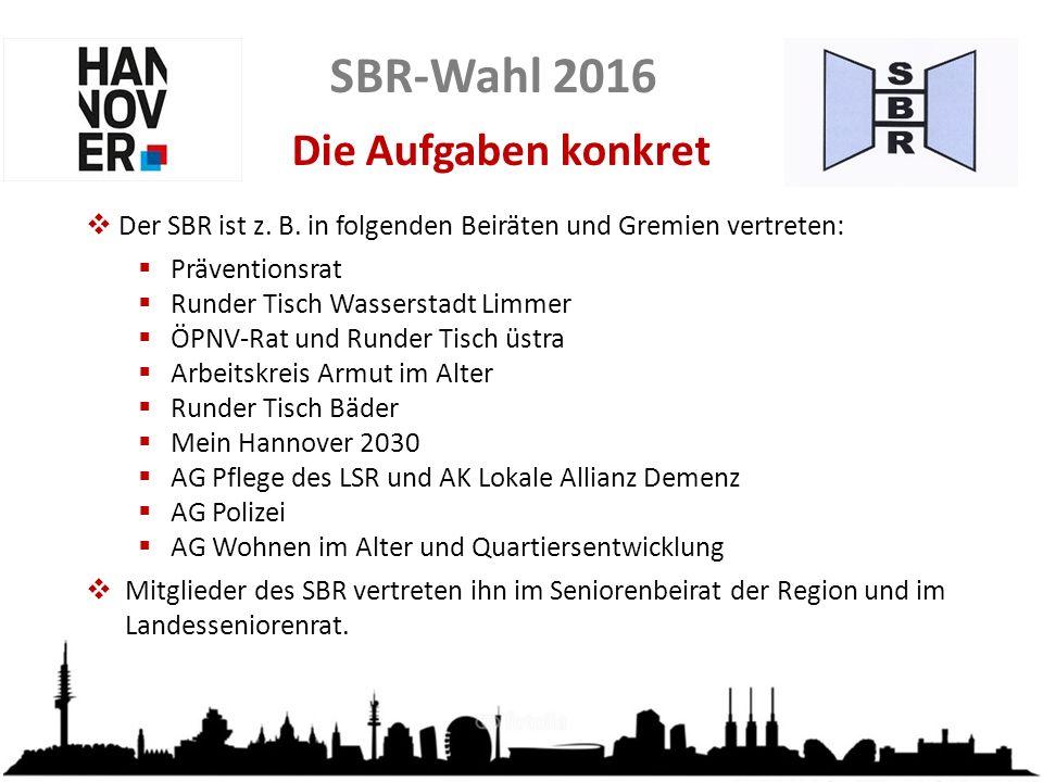 SBR-Wahl 2016 Der SBR on tour