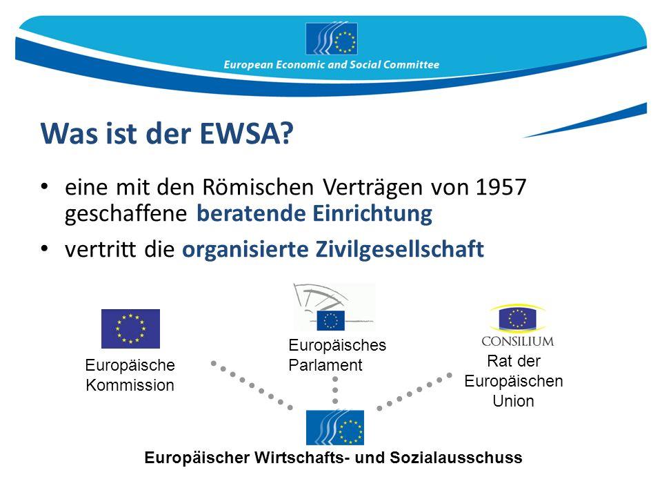 Was ist der EWSA.