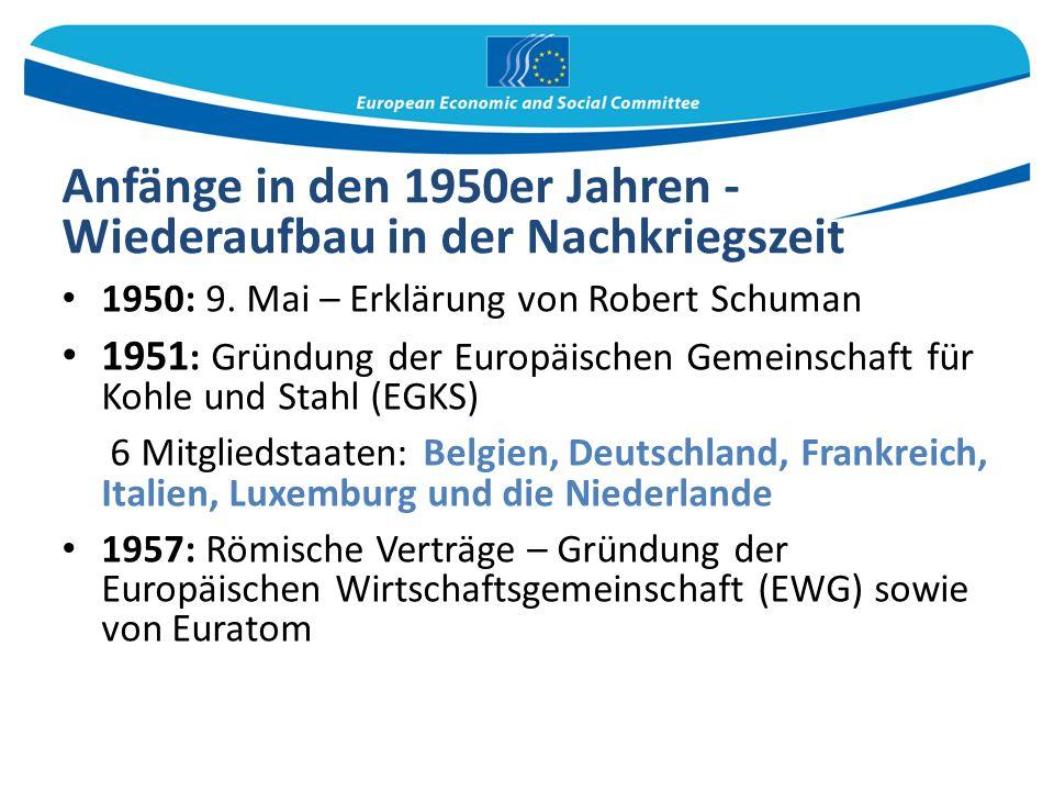 Anfänge in den 1950er Jahren - Wiederaufbau in der Nachkriegszeit 1950: 9.