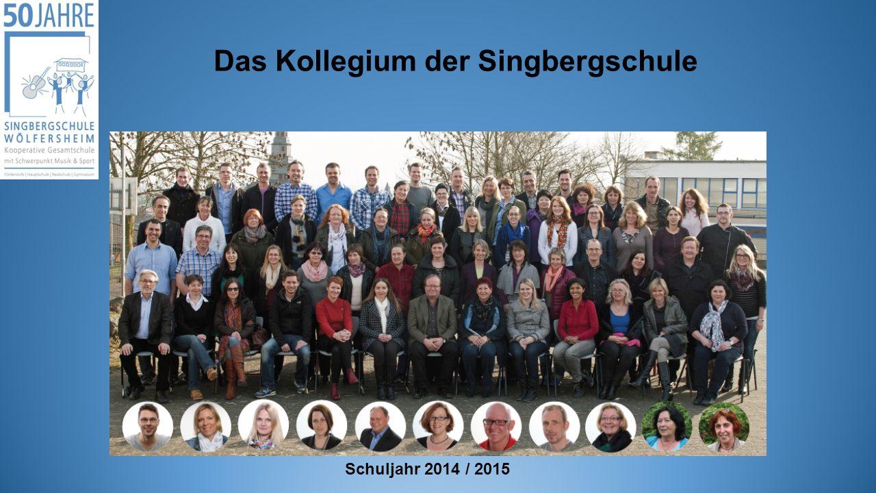 Das Kollegium der Singbergschule Schuljahr 2014 / 2015
