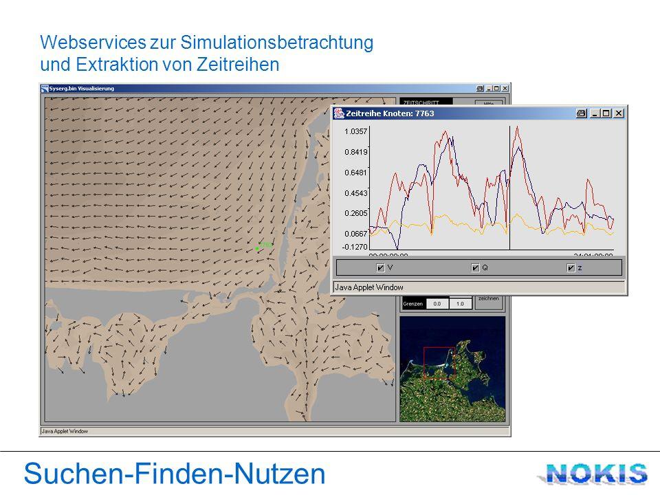 Webservices zur Simulationsbetrachtung Suchen-Finden-Nutzen und Extraktion von Zeitreihen