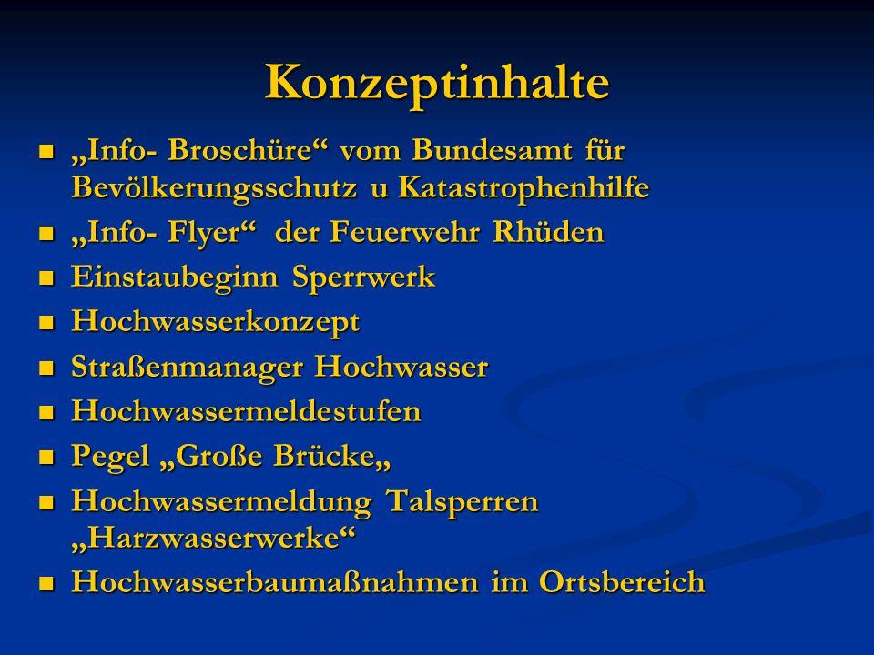 Info- Flyer der Feuerwehr Rhüden ACHTUNG!!.