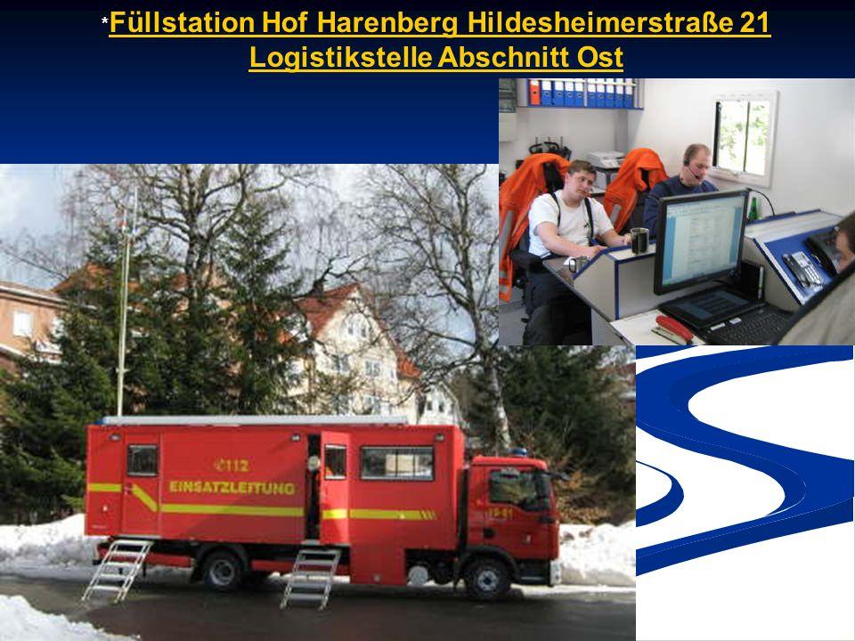 * Füllstation Hof Harenberg Hildesheimerstraße 21 Logistikstelle Abschnitt Ost