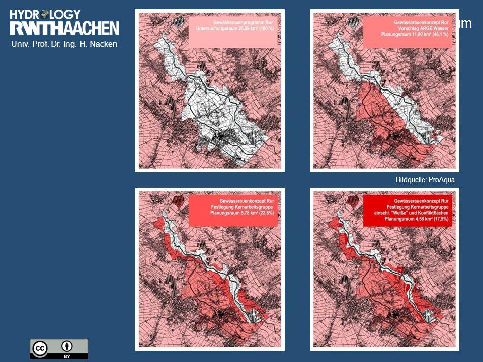 Univ.-Prof. Dr.-Ing. H. Nacken Abriss Millicher Wehr Millicher Wehr