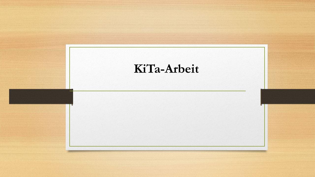 KiTa-Arbeit