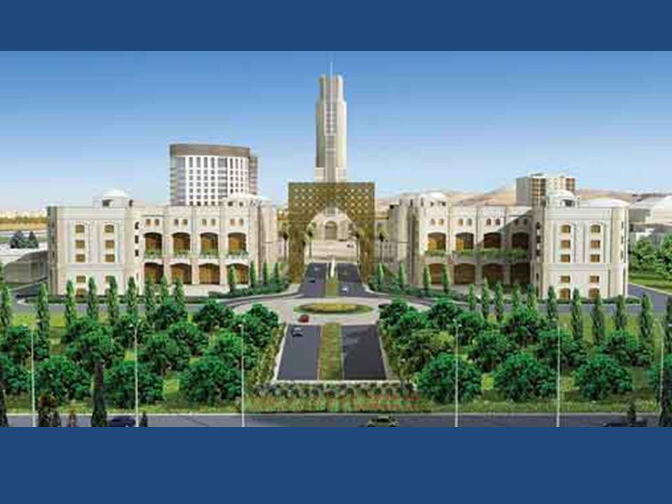 Studentenwohnhäuser der Universität Damaskus