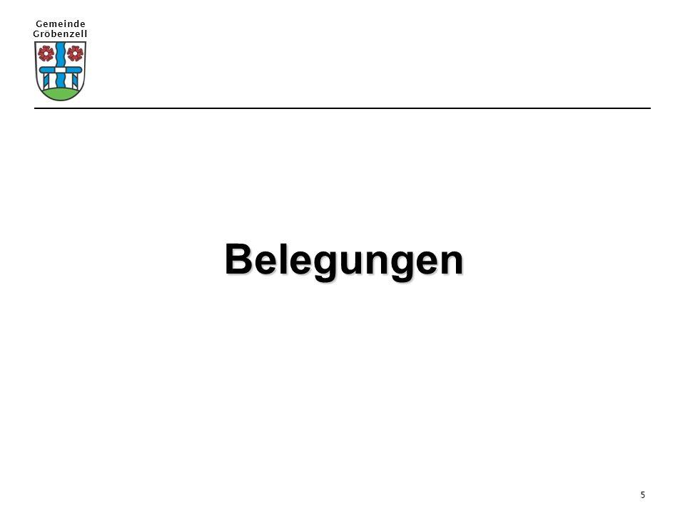 Gemeinde Gröbenzell 5 Belegungen