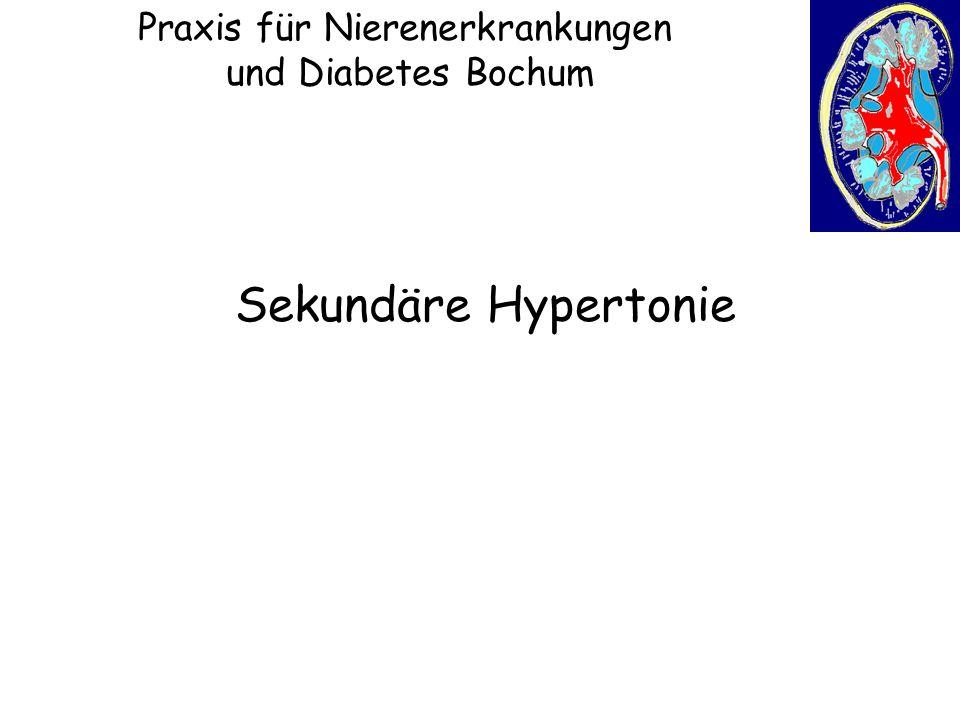 Praxis für Nierenerkrankungen und Diabetes Bochum Sekundäre Hypertonie