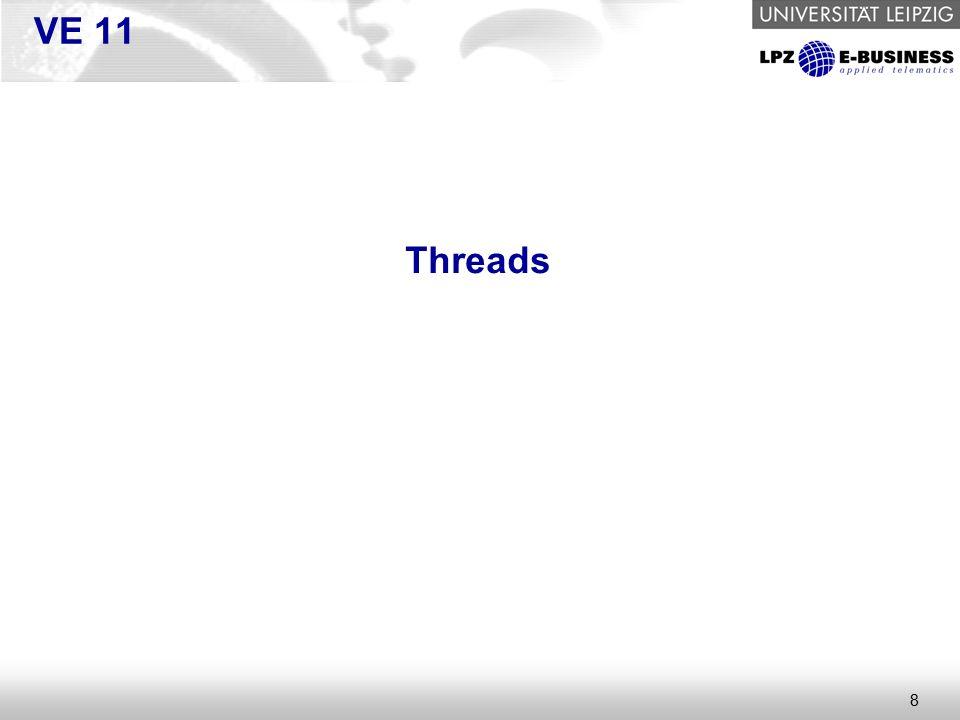 8 VE 11 Threads